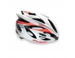 Rudy Project Rush kask szosowy white-red fluo shiny S