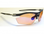 Rudy Project Rydon black ImpactX2 racing red Photochromic okulary + 2 kpl szkieł