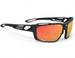Rudy Project Sintryx matte black Polar 3Fx Hdr Multilaser Orange okulary