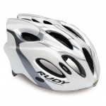 Rudy Project Snuggy kask white titanium silver S/M