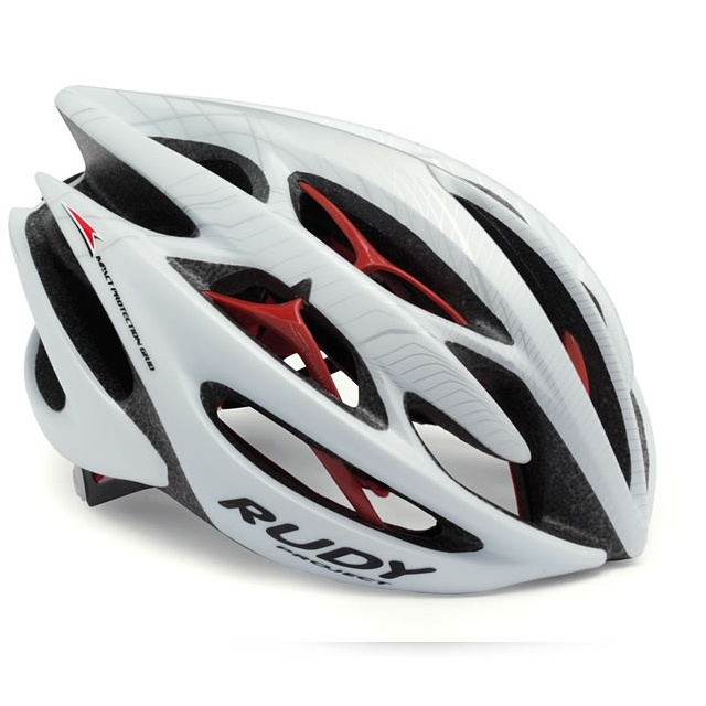 Rudy Project Sterling kask szosowy white/silver/red matte r.L