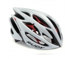 Rudy Project Sterling kask white/silver/red matte r.L