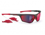 Rudy Project Zyon Graphite / Multilaser Red okulary