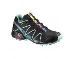 Salomon Speedcross 3 Gore-Tex damskie buty biegowe black/green/blue