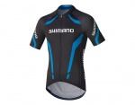 Shimano Performance Print koszulka black/blue S