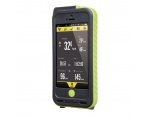 Topeak Weatherproof RideCase uchwyt do iPhone 5 +PowerPack zielony