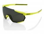 100% Racetrap Mirror Lens Soft Tact Banana okulary