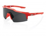 100% Speedcraft (Small Smoke Lens) Soft Tact Coral okulary