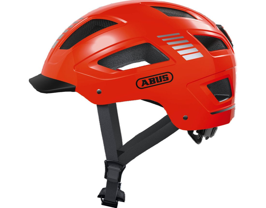 Abus Hyban 2.0 Signal kask miejski orange XL (58-63cm)