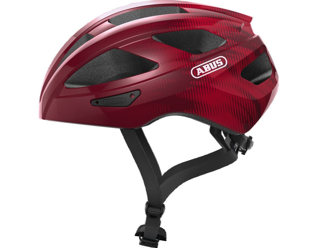 Abus Macator kask szosa bordeaux red L 58-62cm