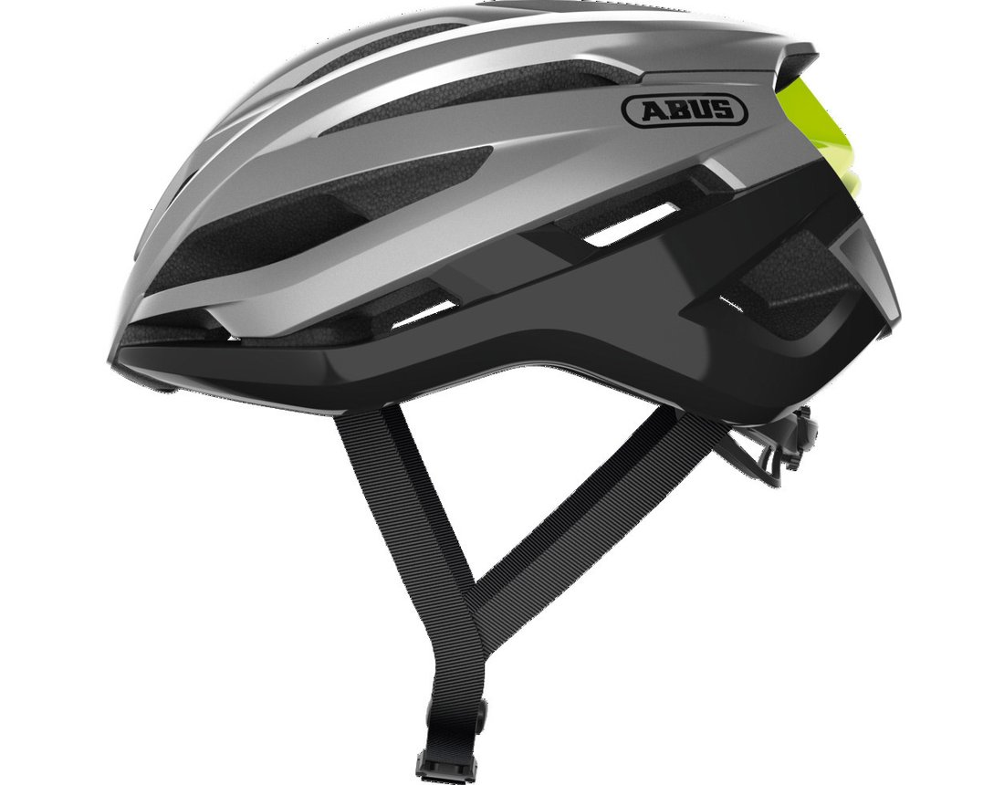 Abus StormChaser kask szosa gleam silver S (51-55 cm)