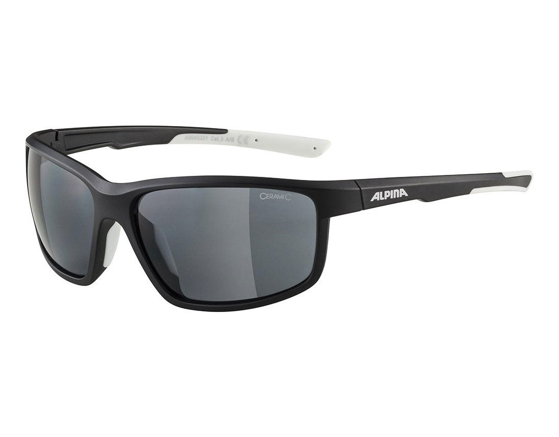 Alpina Defey okulary sportowe black matt-white