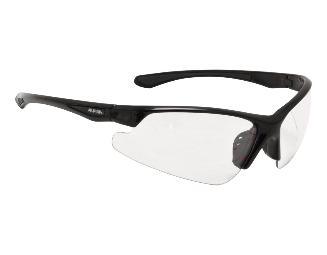 Alpina Levity okulary sportowe black matt/clear