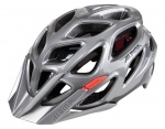 Alpina Mythos 3.0 darksilver black red M 57-62cm kask MTB