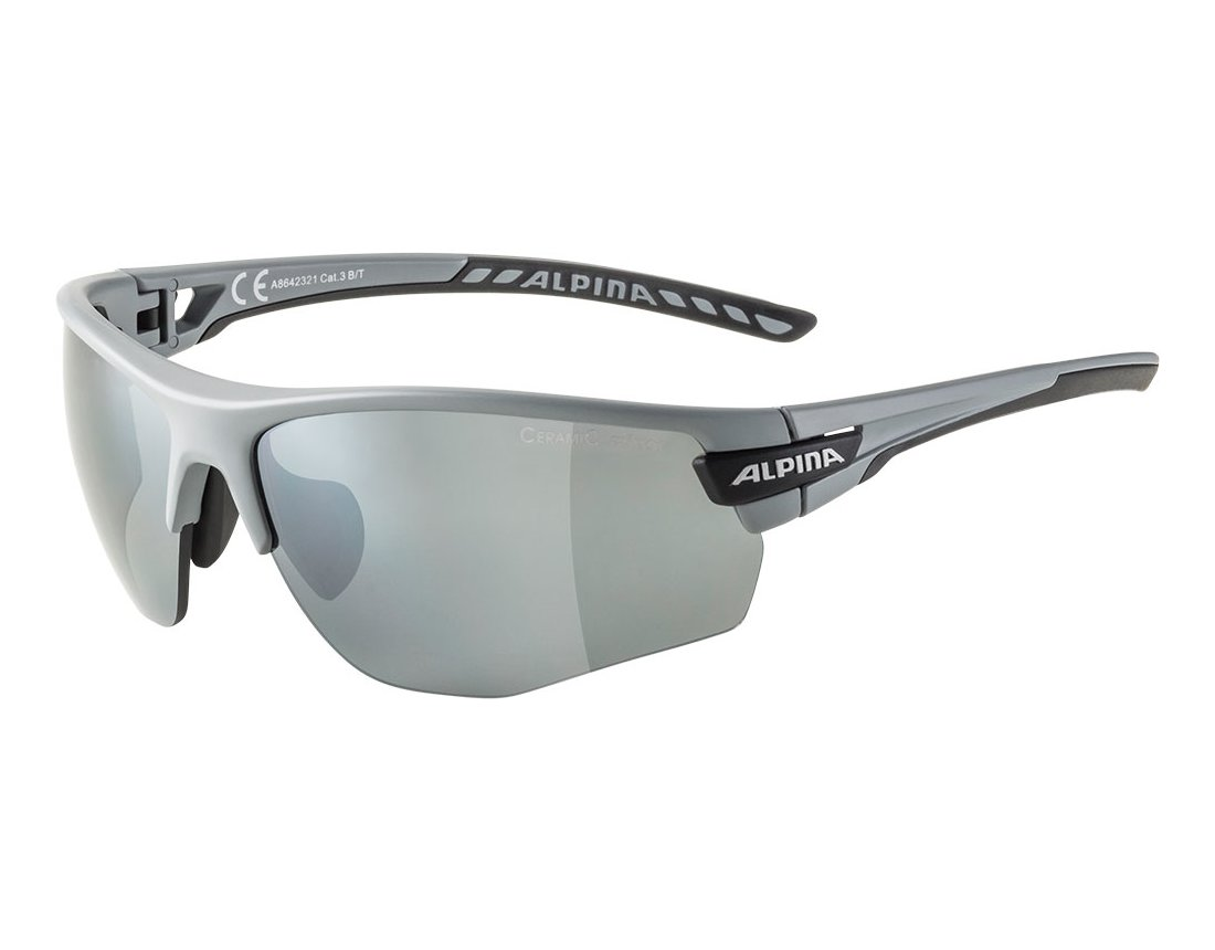 Alpina Tri-Scray 2.0 HR okulary sportowe grey matt