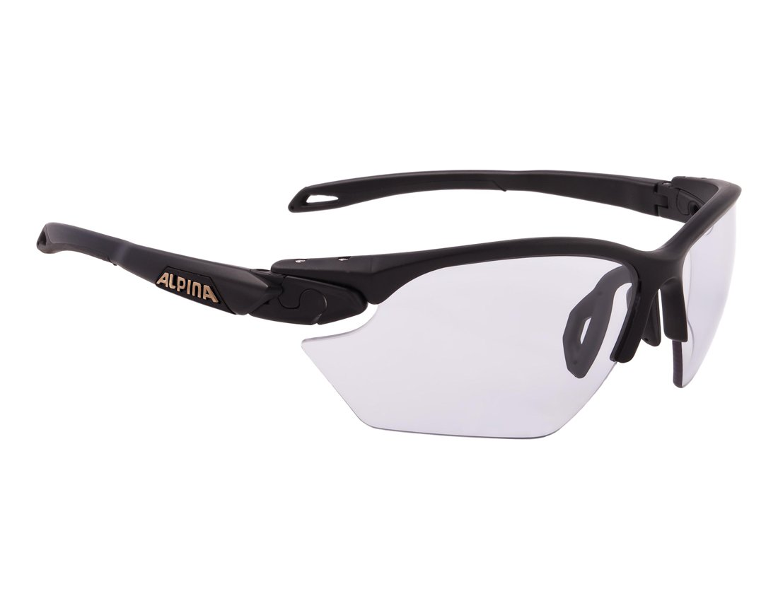 Alpina TWIST FIVE HR S VL+ okulary sportowe black matt onesize
