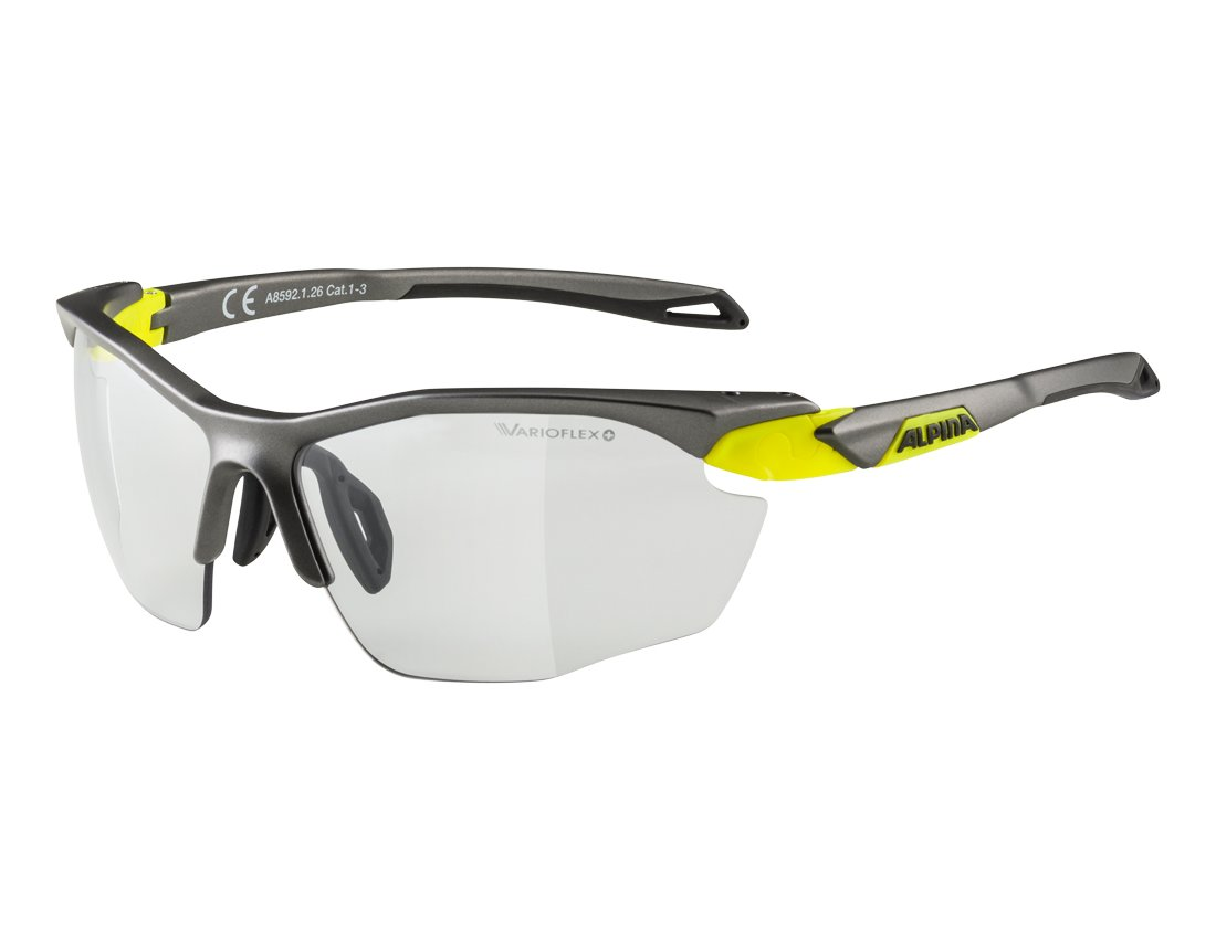 Alpina Twist Five HR VL+ okulary sportowe tin-black onesize/black