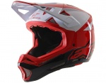 Alpinestars Missile Pro Cosmos kask Fullface red white glossy M (57-58cm)