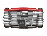 CrankBrothers Multi-19 Multitool black/red