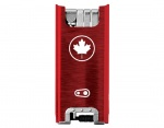 CrankBrothers F15 Multitool - Canada Edition red / silver