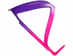 SUPACAZ Fly Cage koszyk na bidon Limited Edition neon purple /neon pink