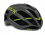 Kask Protone kask szosa anthracite/green L (59-62)