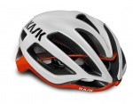 Kask Protone kask szosa white/red M (52-58)