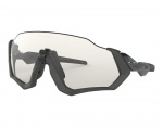 Oakley Flight Jacket Photochromic Scenic Grey/Matte Steel w/Clear/Black Photochromic okulary