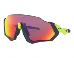 Oakley Flight Jacket PRIZM Road Retina Burn/Matte Navy/PRIZM Road okulary