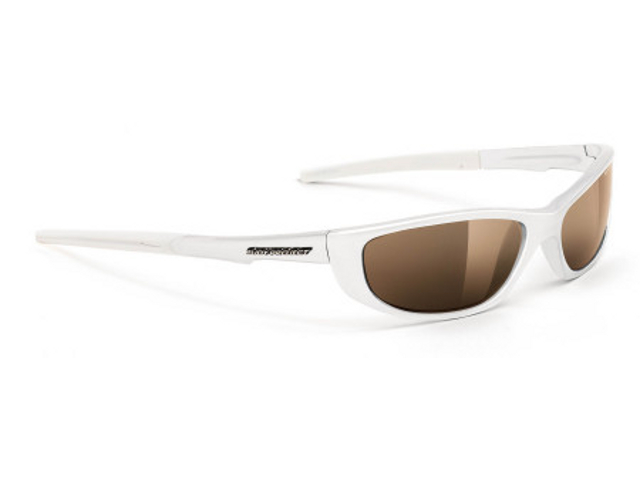Rudy Project KYBO white pearl brown mat deg