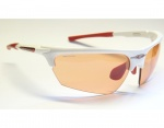 Rudy Project Noyz white red ImpactX Photochromic red okulary