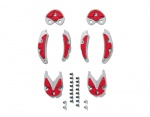 Sidi MTB Sohle SRS grey red 39-40.5